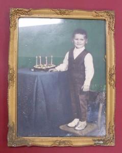 První foto před restaurováním