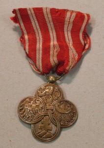 První medaile po restaurování