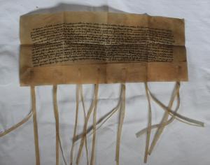 Faksimile 1312 - napsané bez pečetí
