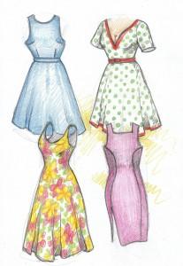 Nápady na další šaty