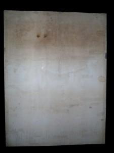 Po restaurování, zadní strana.